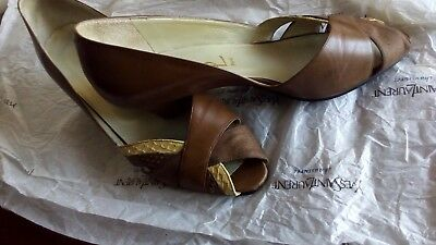 Yves Saint Laurent originale - Scarpe Shoes YSL Pumps sandals 23 cm - 36 1/2