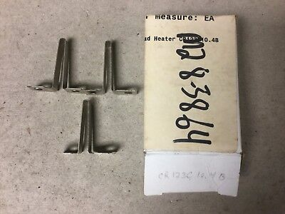 General Electric GE CR123C104B Overload Heater Element-Lot Of 3 New