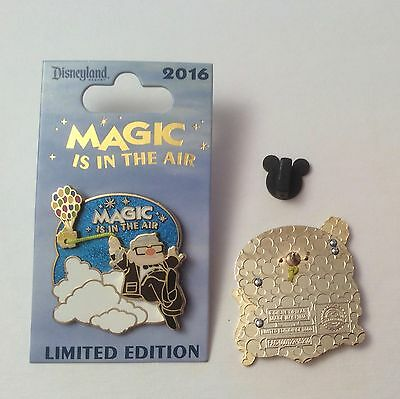 Disney Up! Carl with Balloons Magic is in the Air 2016 Pin LE 3000