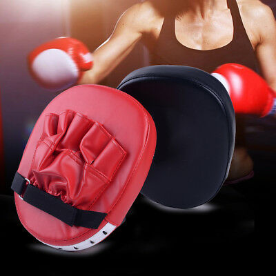 Training Glove Boxing Mitts MMA Target Focus Punch Pad Karate Thai Kick Muay