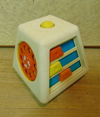 Vintage FISHER PRICE play tower made in USA 1973 VERY RARE