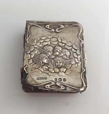 1905 Antique Solid Silver 'Reynolds Angels' Common Prayer Book(R2702)