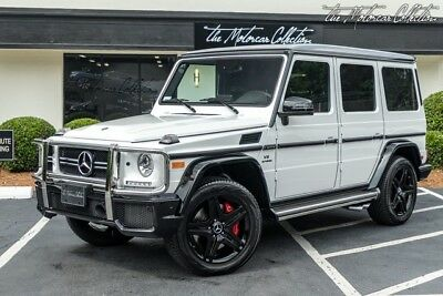 2018 Mercedes-Benz G-Class G63 AMG MSRP $152,745.00 JUST ARRIVED! 1-OWNER CLEAN CARFAX CERTIFIED