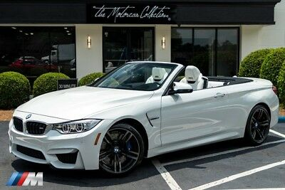 2017 BMW M4 Convertible MSRP $87,450.00 ULTRA RARE COLOR COMBO! 1-OWNER CLEAN CARFAX