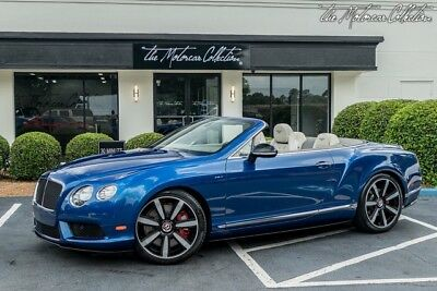 2015 Bentley Continental GT V8 S Convertible MSRP $261,340.00 ULTRA RARE SPECIAL ORDER! MULLINER PACKAGE! CLEAN CARFAX
