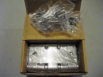 McKinney Satin Chrome Ball Bearing Hinges 4.5 x 4.5 TB2714 26D  55940