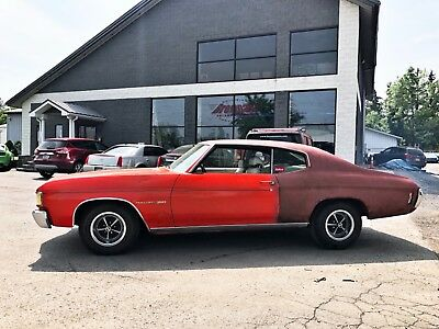 1972 Chevrolet Chevelle Malibu 350 1972 Chevrolet Chevelle Malibu 350 Flame red