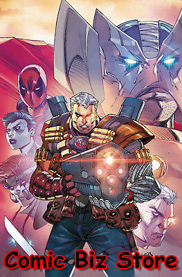 Cable #158 (2018) 1St Printing Scarce 1:25 Ron Lim Variant Cover Marvel Comics