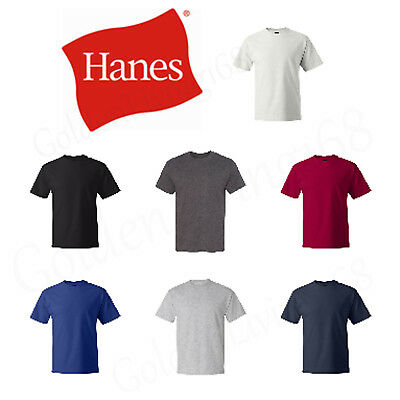ss Hanes Beefy-T TALL T-Shirt 100/% Cotton 518T TALL MEN  CHEAPEST
