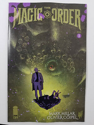 Magic Order #1C NM Adam Hughes Variant