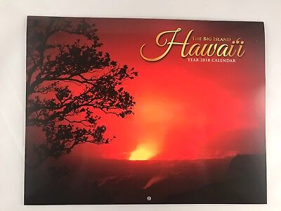 Hawaii The Big Island, 2018 Wall Calendar, Ships Anywhere Today!