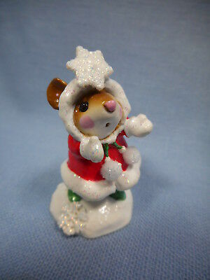 Wee Forest Folk Crystal  M-275  Red Coat Christmas