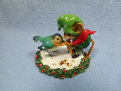 Wee Forest Folk Helpful Elf Christmas M-351