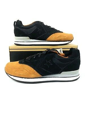 2553b6a7f670 CONVERSE MALDEN RACER OX BLACK   AUBURN SHOES MEN S Size 11  70 ...