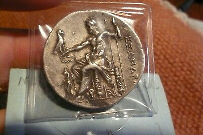 Alexander the Great. Tetradrachm. Ancient Greek Silver Coin, nice