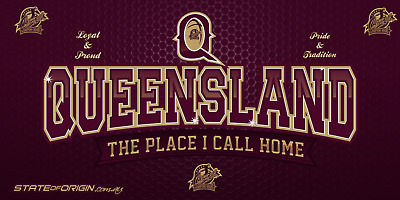 State of Origin Qld large display banner / Flag
