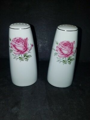 Fine China Of Japan Salt & Pepper Shakers In The Imperial Rose #6702 Pattern
