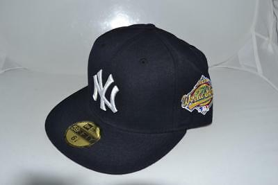 fd8722b319d New Era New York Yankees World Series 1996 Mlb Fitted Cap Hat 59Fifty  Authentic