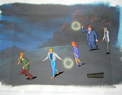 Original production cel  - Scooby Doo and The Witch's Ghost (Cartoon Net)