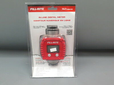 Fill-Rite In-Line Digital Meter FR1118A10