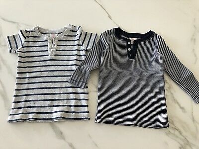 Baby Boys Seed Tops Size 0 in EUC