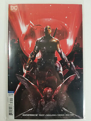 Deathstroke #32 Francesco Mattina Variant NM Deathstroke VS Batman Part 3
