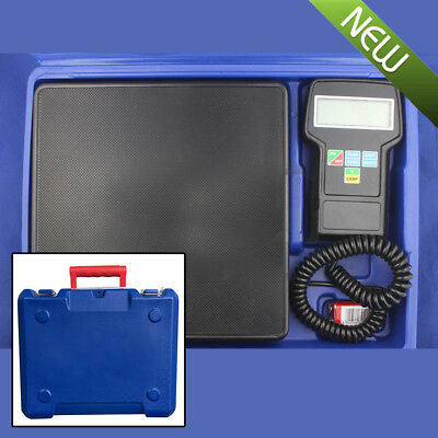 220lbs Electronic Refrigerant Charging Digital Weight Scale w/Case for HVAC Sale