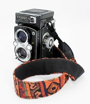 VINTAGE YASHICA MAT-124 Very Good Condition FILM TESTED, CLA'd by Mark Hama