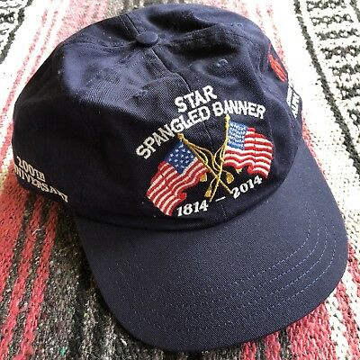 Ultra Rare Polo Anniversary Smithsonian Star Spangled Banner Strapback Dad Hat