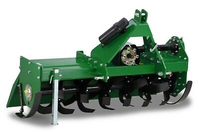 Hayes Products 4Ft Heavy Duty Pto Tractor Rotary Hoe/tiller - 3 Point Linkage