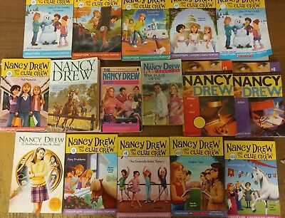 Lot of 30 Nancy Drew Detective Mystery Scholastic Chapter Series Set Books #T42