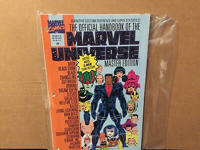 Official Handbook Of The Marvel Universe Master Edition 28