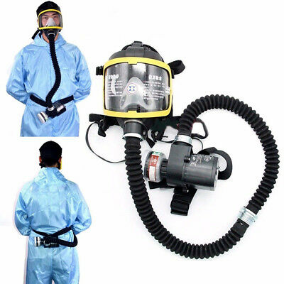 Electric geliefert Air Fed Full Face Gasmaske konstant Flow Atemschutzsystem NEU