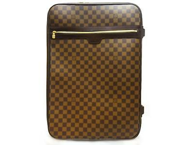 Authentic LOUIS VUITTON Damier Pegase 55 Travel Luggage Bag Carry-on N23294