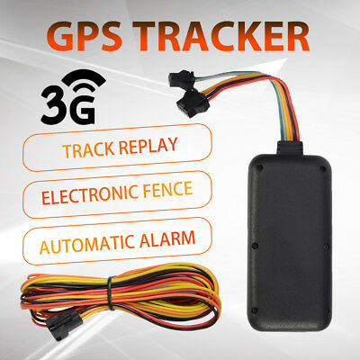 3G GPS Tracker Live Real Time Tracking Device Remote Monitoring Mobile Phone
