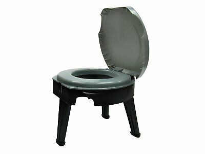 Reliance Fold-To-Go Portable Lightweight Toilet for camping, RVs, hunting, boat