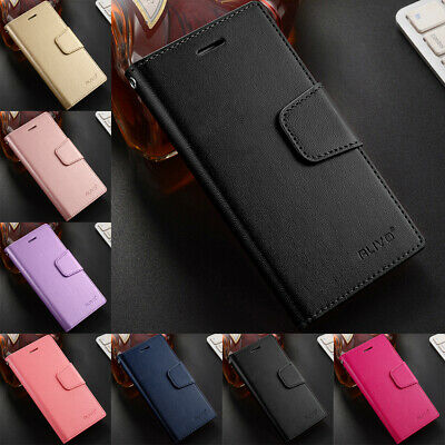 For iPhone SE 5S 6S 7 8 Plus XR XS Max Business Leather Case Flip Wallet Cover