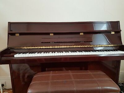Alex Steinbach Upright Piano - much loved good condition excellent for students