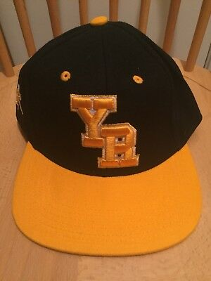 cheap for discount 1ae2e 9c941 Young   Reckless YR Logo SnapBack Hat Cap Black   Yellow Adjustable NEW