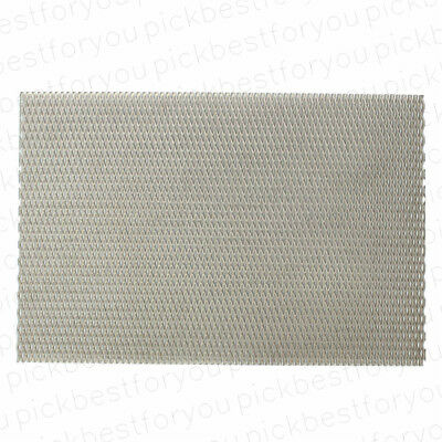 5pc Titanium Metal Grade Mesh Perforated Diamond Holes plate 300x200x1mm Mx34 QL
