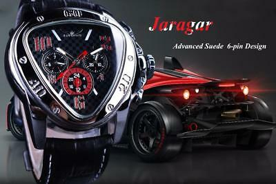 JARAGAR Sport Racing watch,  Incredible geometric form