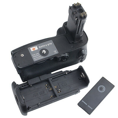 DSTE BG-E20 Vertical Battery Grip with Remote for Canon EOS 5D Mark IV Camera