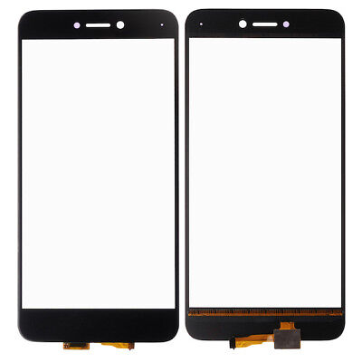 Per Huawei P8 Lite 2017 Front Touch Schermo Digitizer Glass Panel Nero PRA-LX1