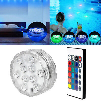 Underwater LED Aqua Glow Light Show Swimming Pool Tub Spa Lamp RGB Multi Colour