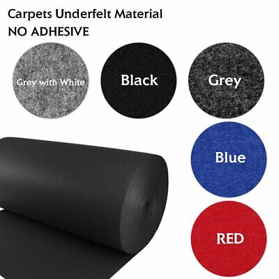 Auto Boat Carpet Underfelt Underlay Cut Pile Trunk Liner Replace Durable 6Colors