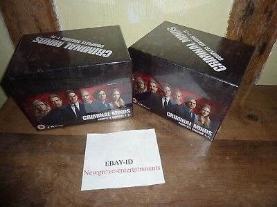Criminal Minds The Complete Collection 1-11 Dvd Box-Set New Sealed