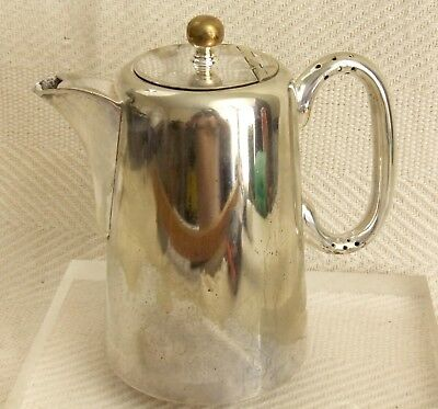 "Vintage Sheffield English EPNS Silver Plated Teapot 6.5"" Tall Classic Design"