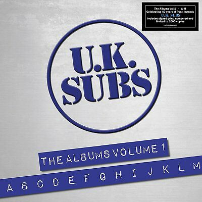 U.k. Subs - The Albums Volume 1: A-M - New Cd Box Set