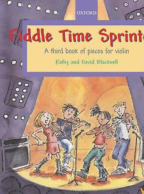 Fiddle Time Sprinters Violin Music Book 3 & CD Pieces 2003 Tutor Illustrated S27