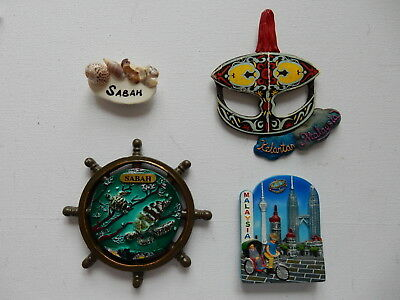 One Selected 3D Souvenir Fridge Magnet from Malaysia